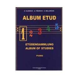 Album etud 1 pro klavír