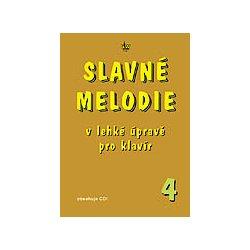 SLAVNÉ MELODIE v lehké úpravě pro klavír 4. díl