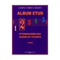 Album etud 2 pro klavír