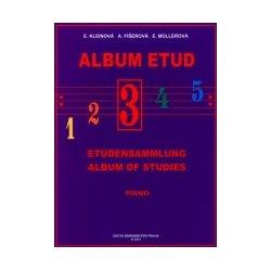 Album etud 3 pro klavír
