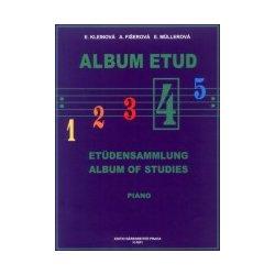 Album etud 4 pro klavír