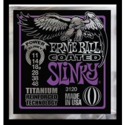 Ernie Ball 3120 Coated Titanium