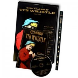 CLARKE WTCD TINWHISTLE SET D+noty+CD