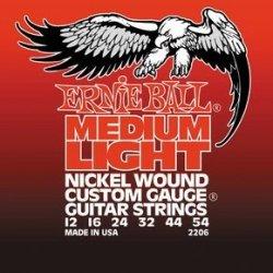 Ernie Ball 2206 Medium Light Nickel Wound