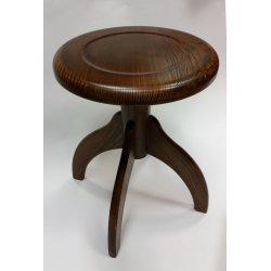 Piánová stolička - hnědá