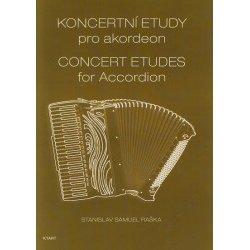 Koncertní etudy pro akordeon