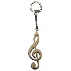 Přívěsek na klíče houslový klíč