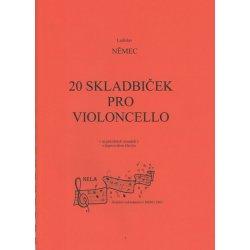 20 skladbiček pro violoncello