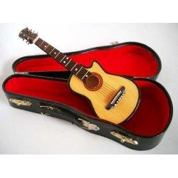 Miniatura kytara cutaway