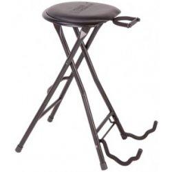 Kytarová stolička s držákem na kytaru Stagg GIST-350