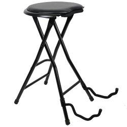 Kytarová stolička s držákem na kytaru Stagg GIST-300