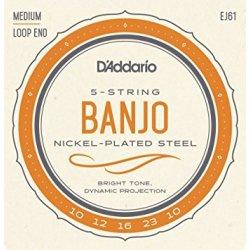 D´Addario Banjo EJ61