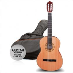 Ashton klasická kytara SPCG44 BR Paket Molina