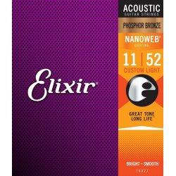 Elixir 11027 Custom light .011-52