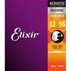 Elixir 11077 Light-medium .012-56