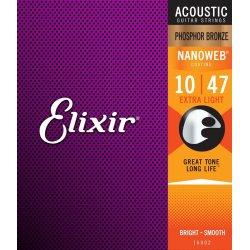 Elixir 16002 Extra light .010-.047