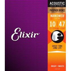 Elixir 16152 12-string Light .010-47