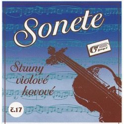 Violová struna D Gorstrings SONETE č.17