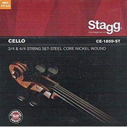 Stagg CE-1859-ST struny violoncello
