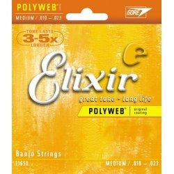 Elixir Banjo 11650 Medium .010-023