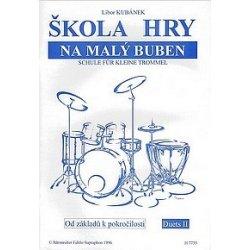 Škola hry na malý buben - Libor Kubánek