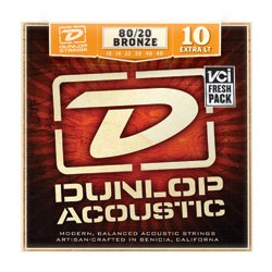 Dunlop DAB 1048 Bronze Acustic 10-48