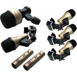 Mikrofony pro bici D-636S-7 sada