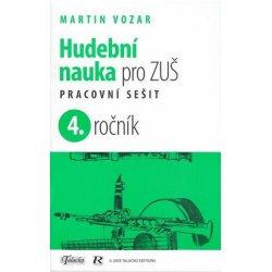 Hudební nauka pro ZUŠ 4. ročník -  Martin Vozar