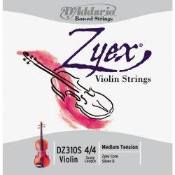 D´Addario Zyex DZ310S 4/4 houslové struny