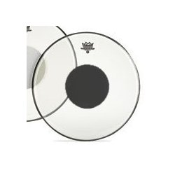 Remo Controlled Sound 14 Clear Black