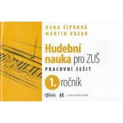 Hudební nauka pro ZUŠ 1. ročník - Martin Vozar