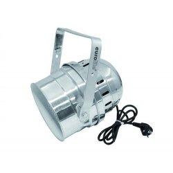 Eurolite LED PAR-64 RGB krátký stříbrný