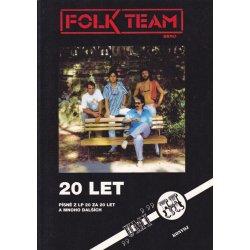 Zpěvník Folk Team 20 let