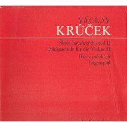 Škola houslových etud II.  Václav Krůček