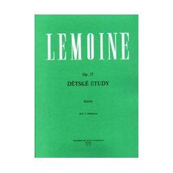 LEMOINE Dětské etudy op. 37