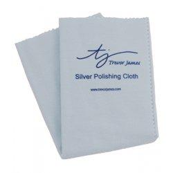 Čistící utěrka Trevor James - stříbro