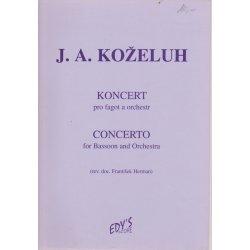 J.A.Koželuh - Koncert pro fagot a orchestr
