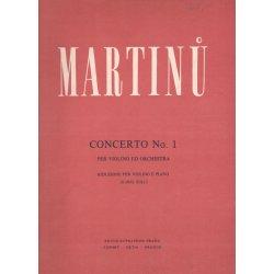 B.Martinů - Concerto No.1