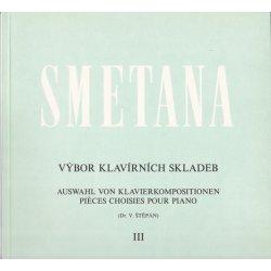 Bedřich Smetana Výbor klavírních skladeb 3
