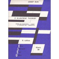 Josef Suk z klavírní tvorby
