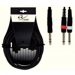 Alpha Audio Y-Kabel 3m